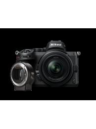 Aparat Foto Mirrorless Nikon Z5 24,3 MP Video 4K Kit cu Obiectiv NIKKOR Z 24-50mm F/4-6.3 + Adaptor FTZ